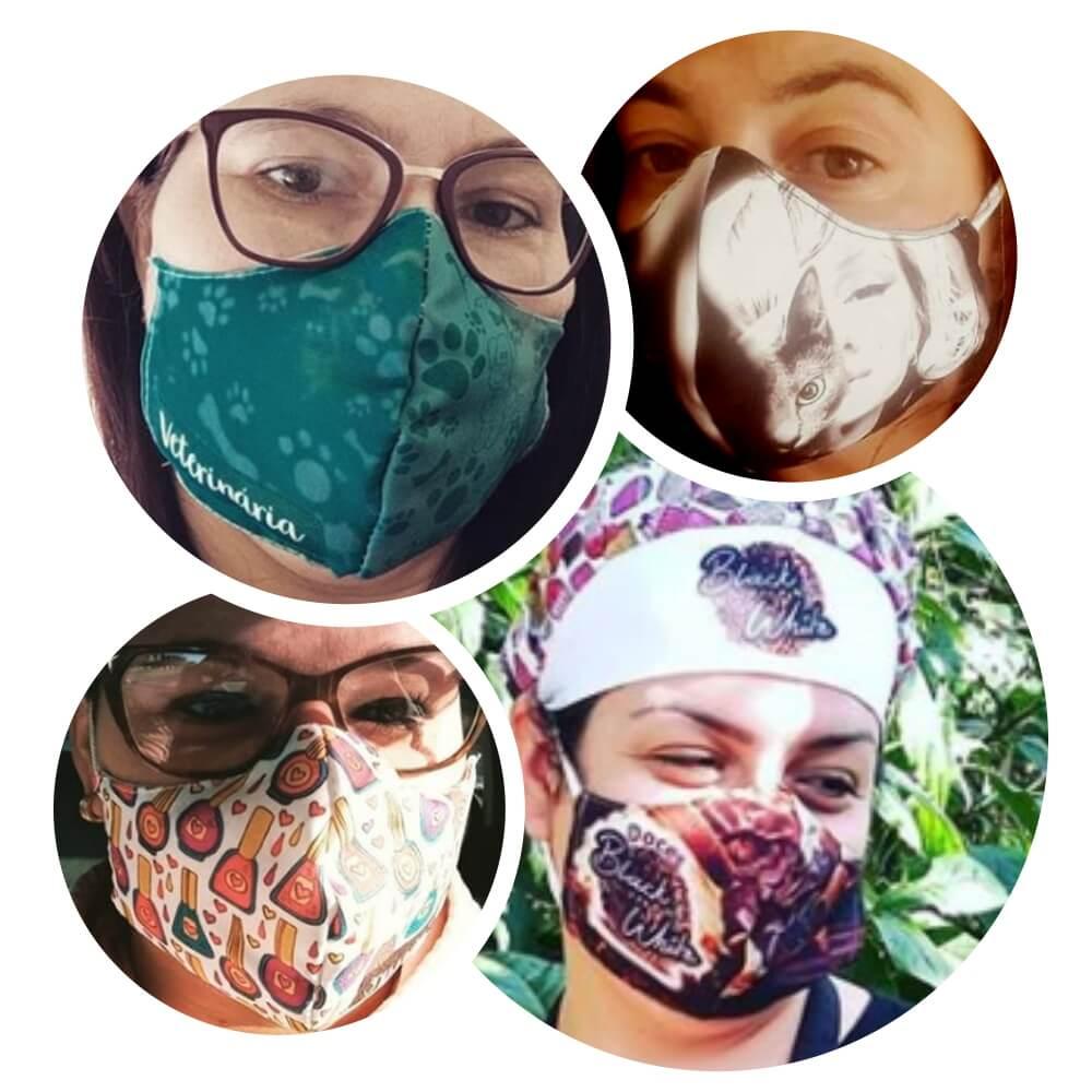 Máscara Personalizada – Anatômica