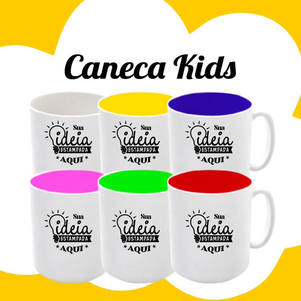 Caneca Kids Plástico Resistente 325ml