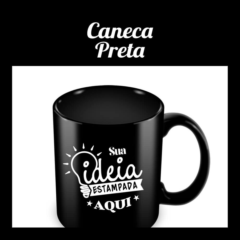 Caneca Preta – 325ml