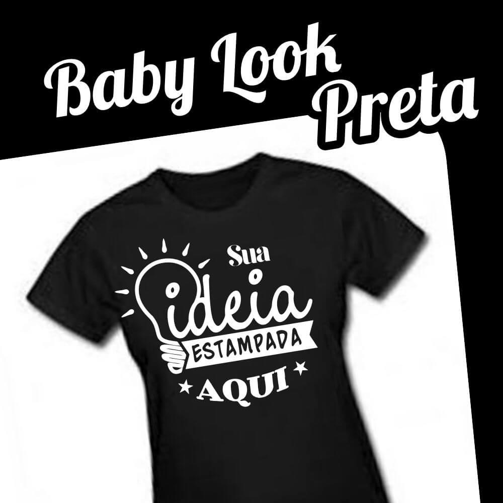 Baby Look Preta