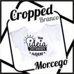 Cropped Morcego – Branco