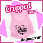 Cropped de Amarrar – Rosa