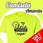 Camiseta  Dry Fit – Amarela