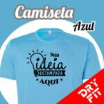 Camiseta  Dry Fit – Azul