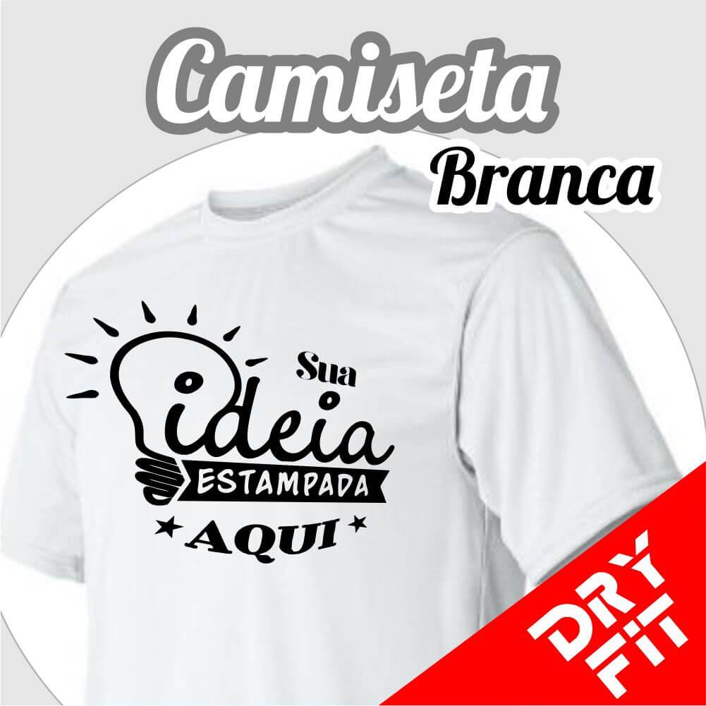 Camiseta  Dry Fit – Branca