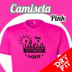 Camiseta  Dry Fit – Pink