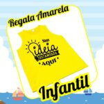 Regata Infantil Amarela