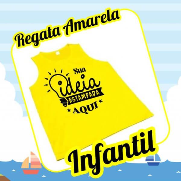 Infantil regata amarela