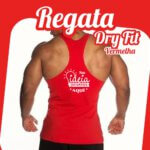 Regata Dry Fit Vermelha
