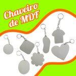 Chaveiro em MDF