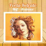 Porta Retrato MDF Arabesco