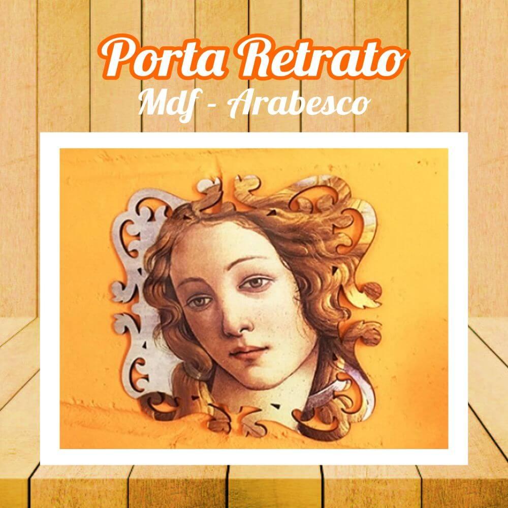 Porta Retrato MDF Arabesco