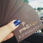 Cartões de Visita Com Verniz Localizado