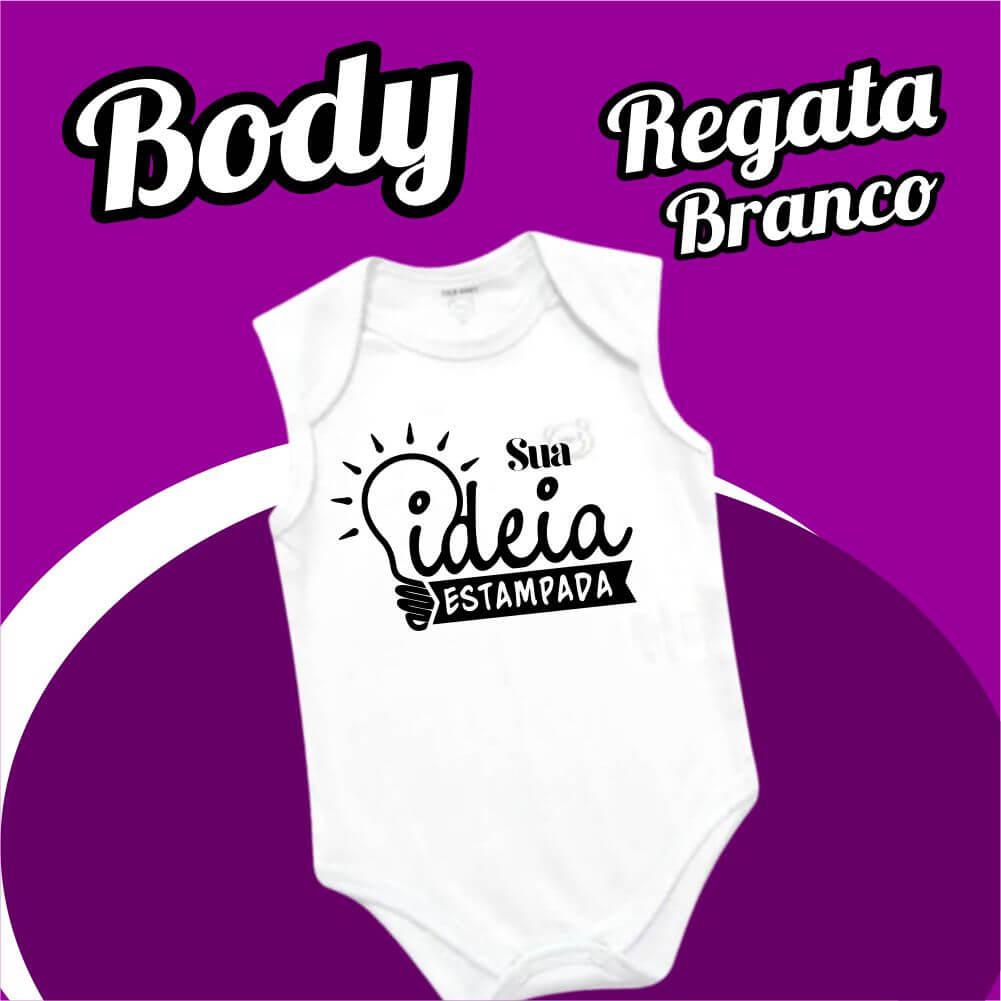BODY Bebê Regata – Branco