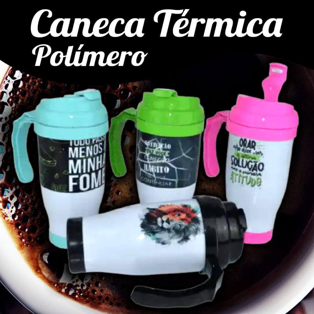 Caneca Térmica Polímero – 490ML
