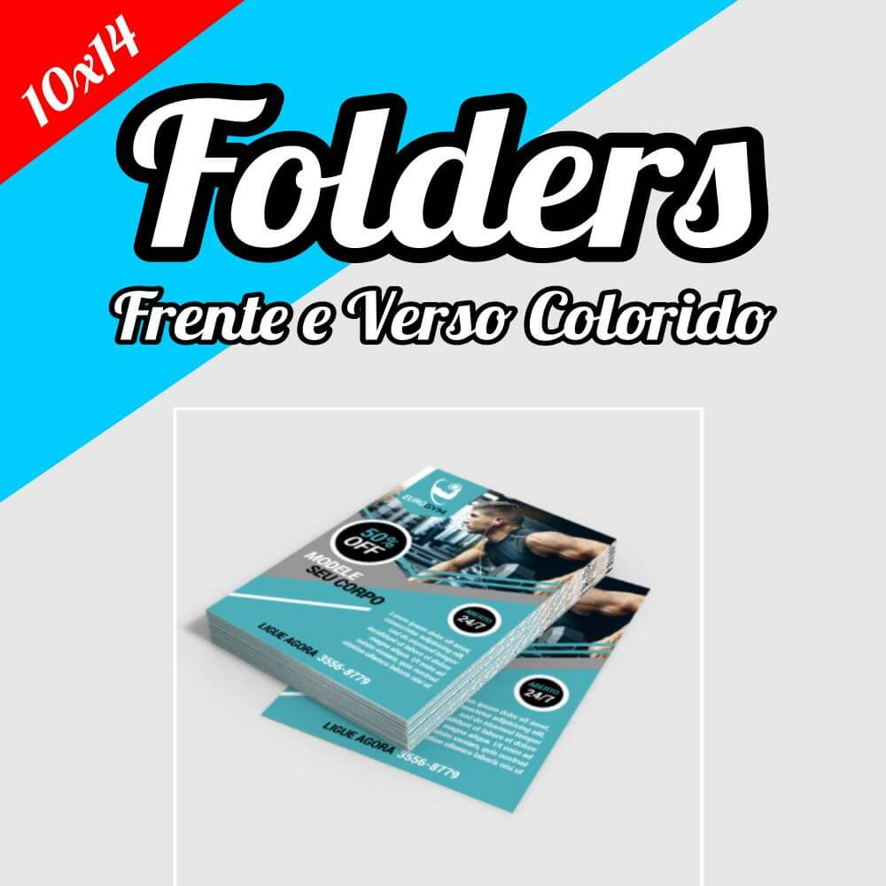 Folder 10×14 • Panfleto • Flyer