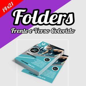 Folder 14×20 • Panfleto • Flyer