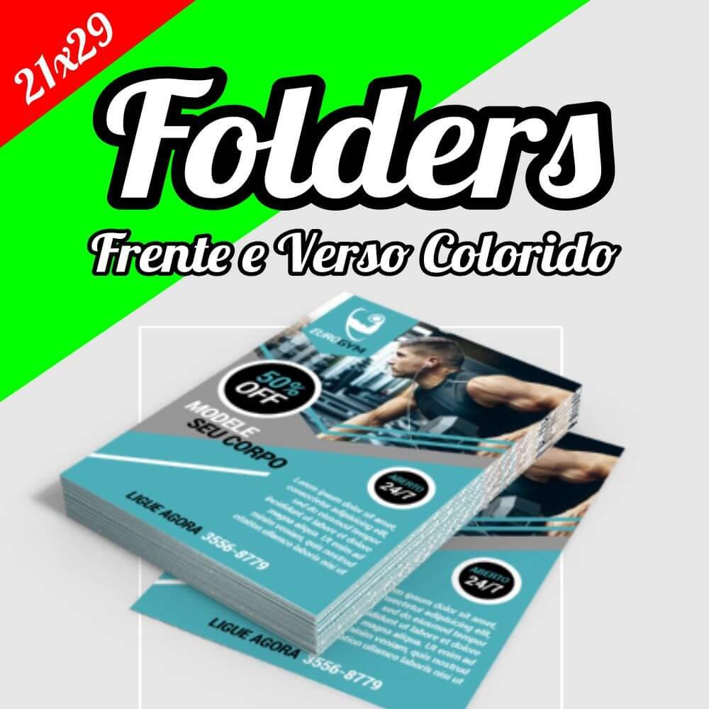 Folder 21×29,7 • Panfleto • Flyer