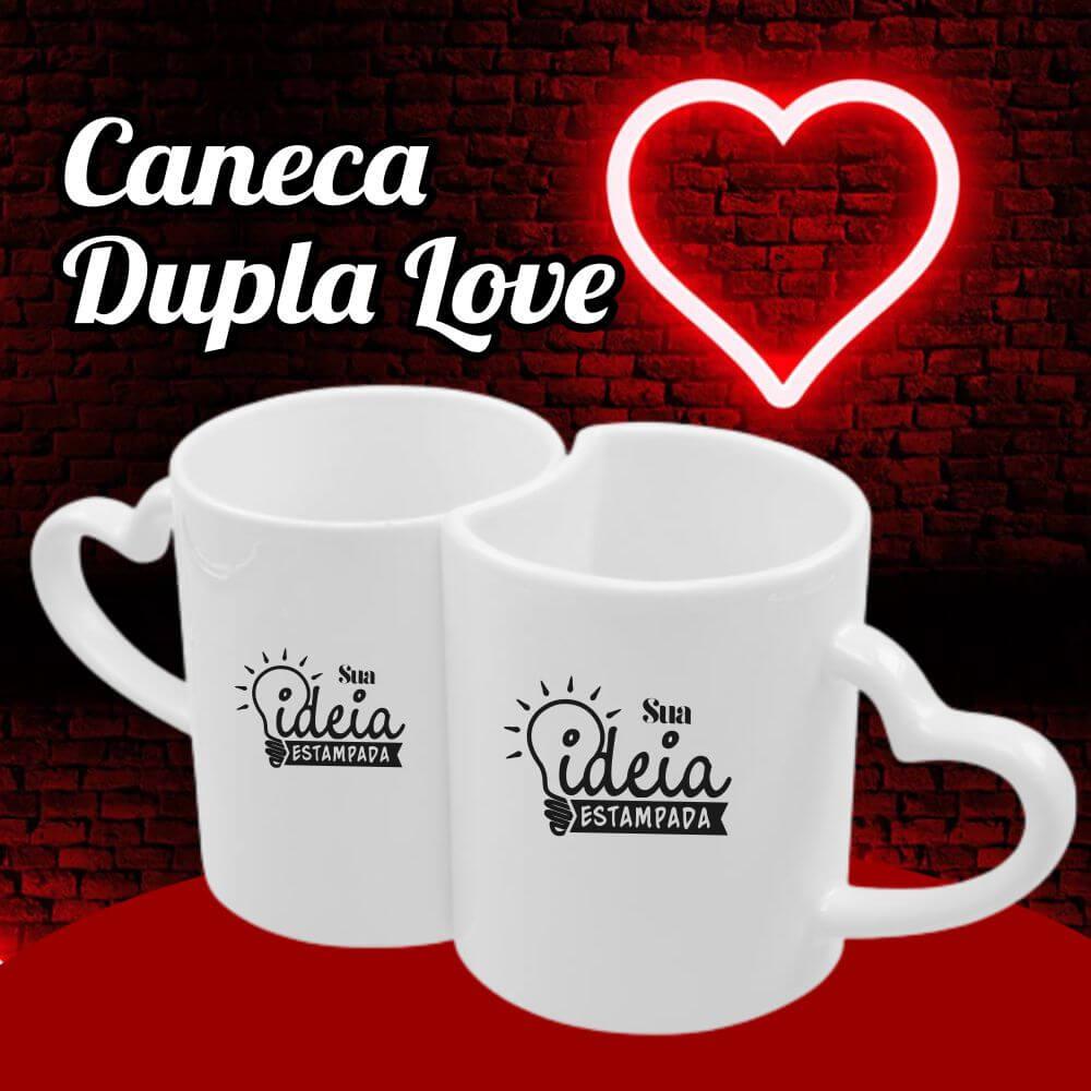 Caneca Dupla Love