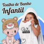 Toalha de banho com capuz – Infantil