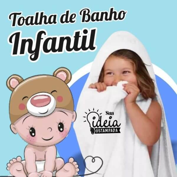 toalha infantil