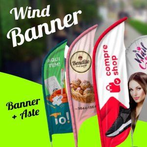Wind Banner – Banner + Aste