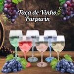 Taça de Vinho Purpurin